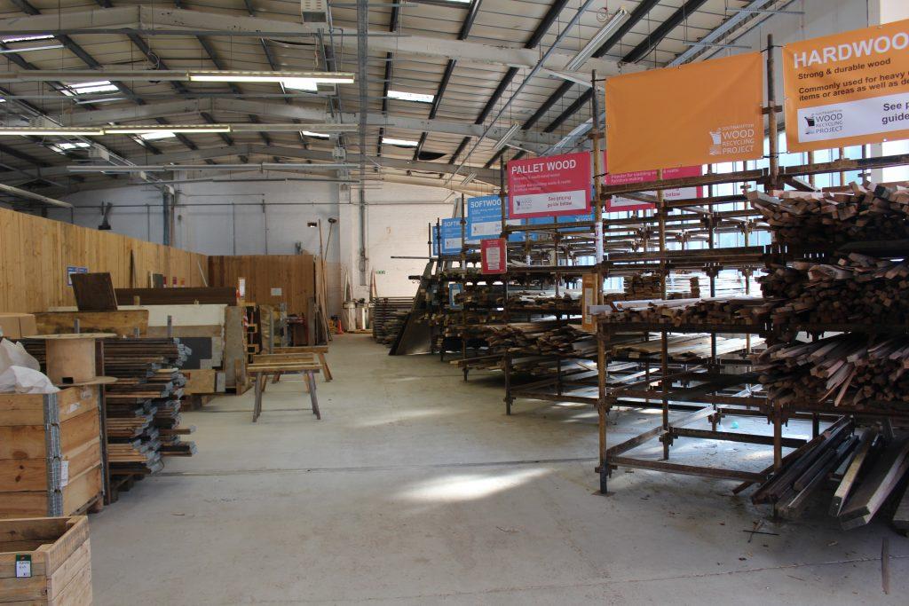 Southampton Wood Recycling Wood Yard
