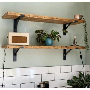 Deep Rustic Shelf | Southampton Wood Recycling Project