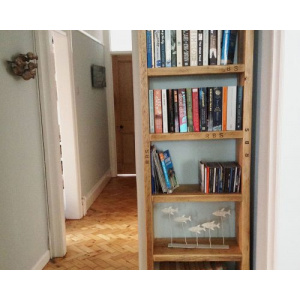 Rustic Wooden Bookcase