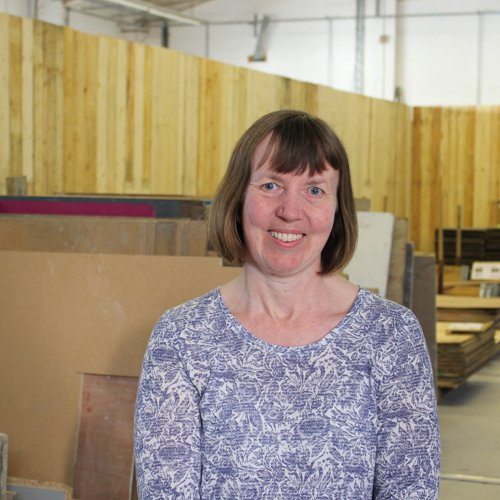 Barbara Rufenacht Volunteer Manager at Southampton Wood Recycling Project