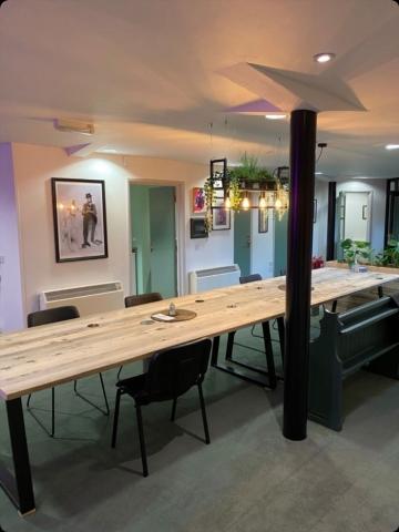 Design Chapel Long Hamble Table in raw Osmo oil finish