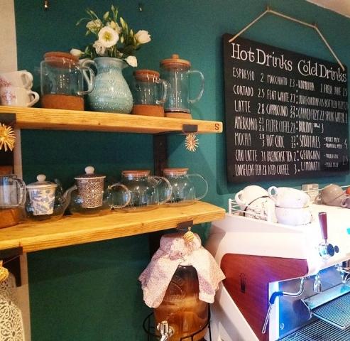 Cafe Shelving