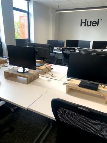 Deep Monitor Stands for Huel