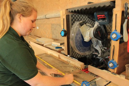 Workshop at Southampton Wood Recycling Project